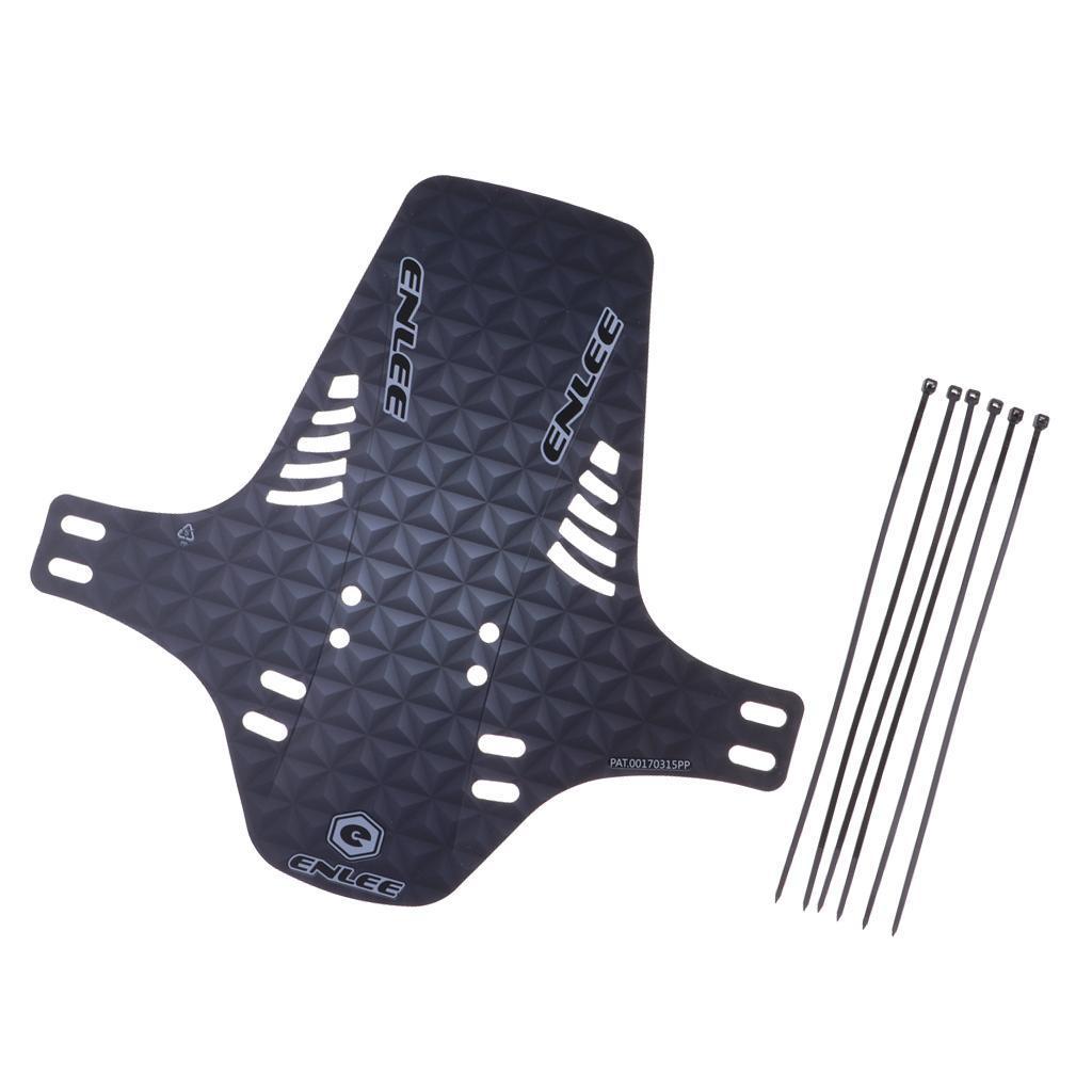 Parafanghi-MTB-per-Mountain-Bike-Parafango-anteriore-con-cinturino miniatura 23