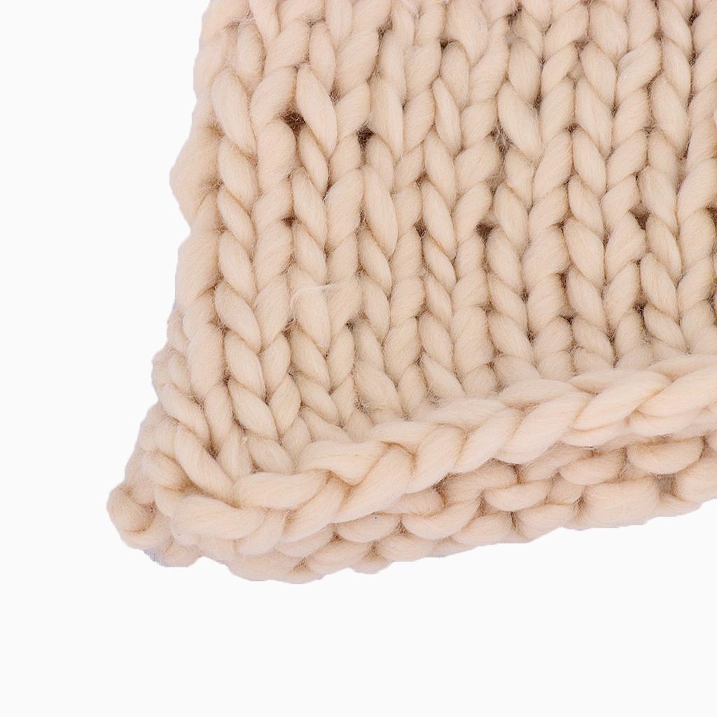 Chunky-Knit-Blanket-Super-Large-Bulky-Arm-Knitting-Blanket-Big-Wool thumbnail 7