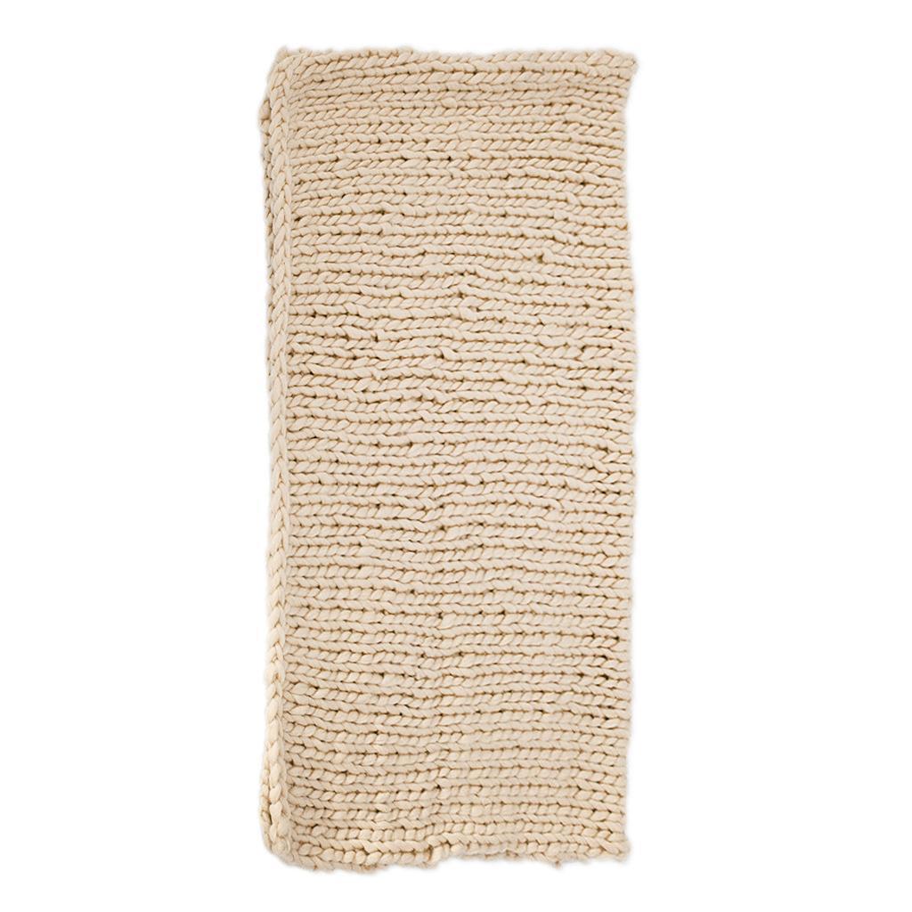 Chunky-Knit-Blanket-Super-Large-Bulky-Arm-Knitting-Blanket-Big-Wool thumbnail 10
