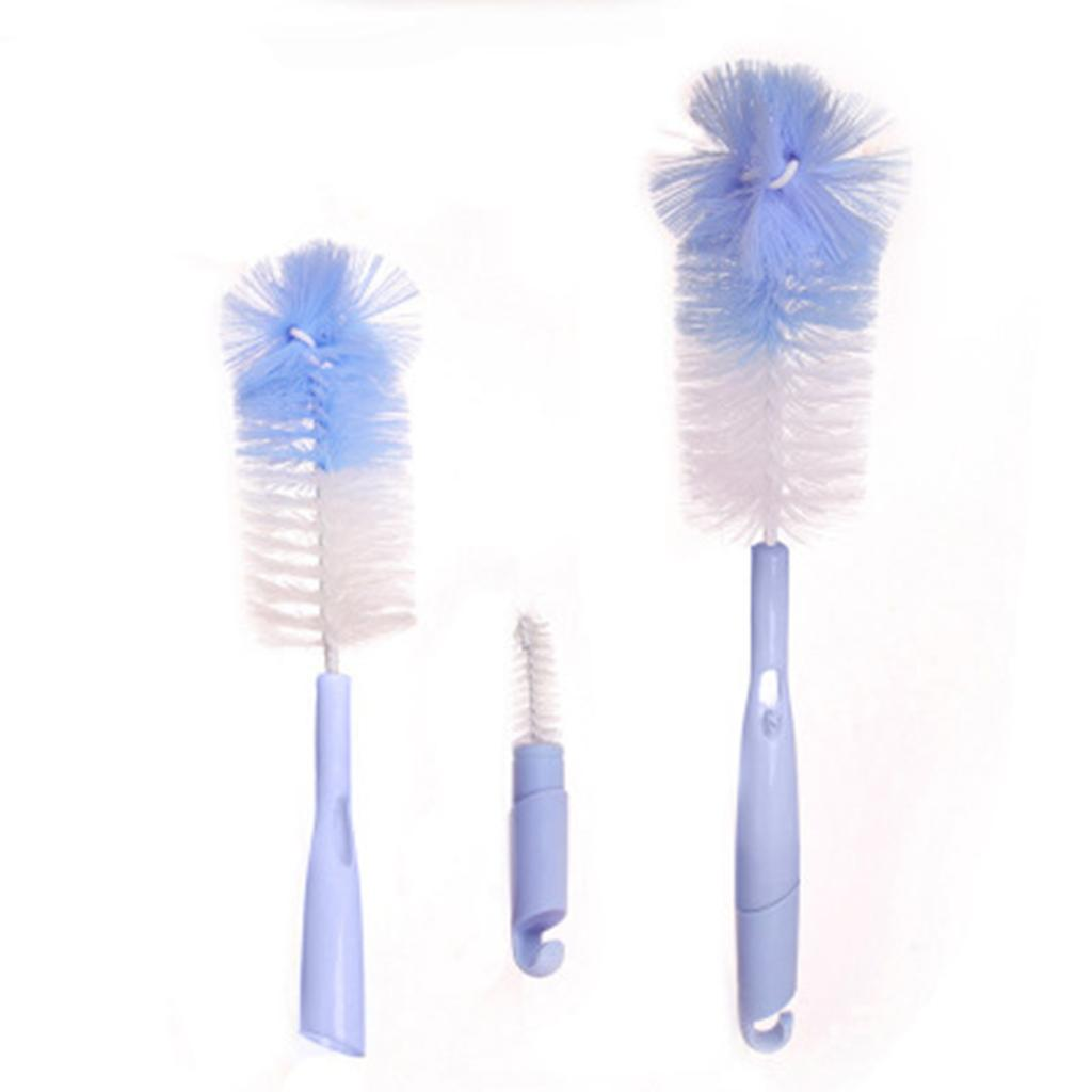 5x Baby Milk Bottle Nipple Clean Brush Teapot Nozzle Teat Spout Tube Clean Tool