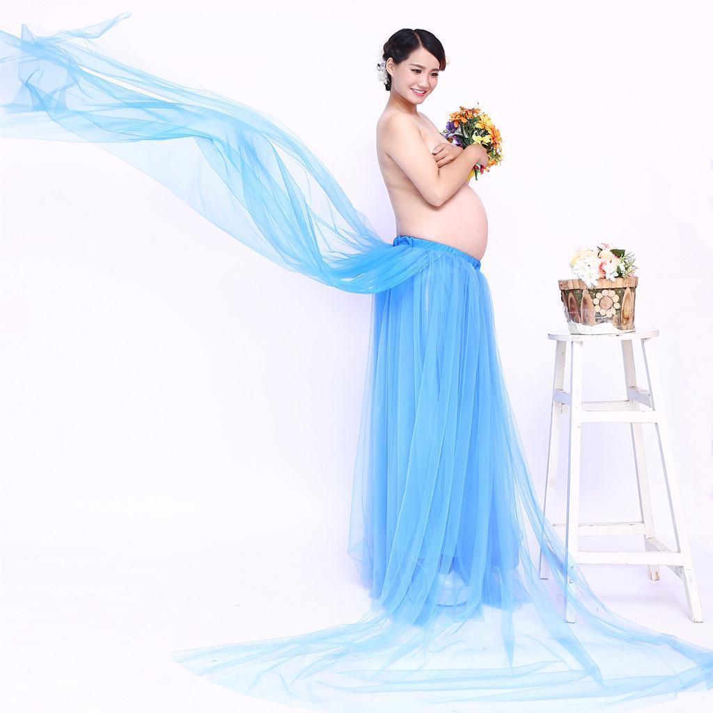 10097bf3ac185 Prettyia Photography Prop Maternity Tutu Skirt Pregnant Dress Studio ...