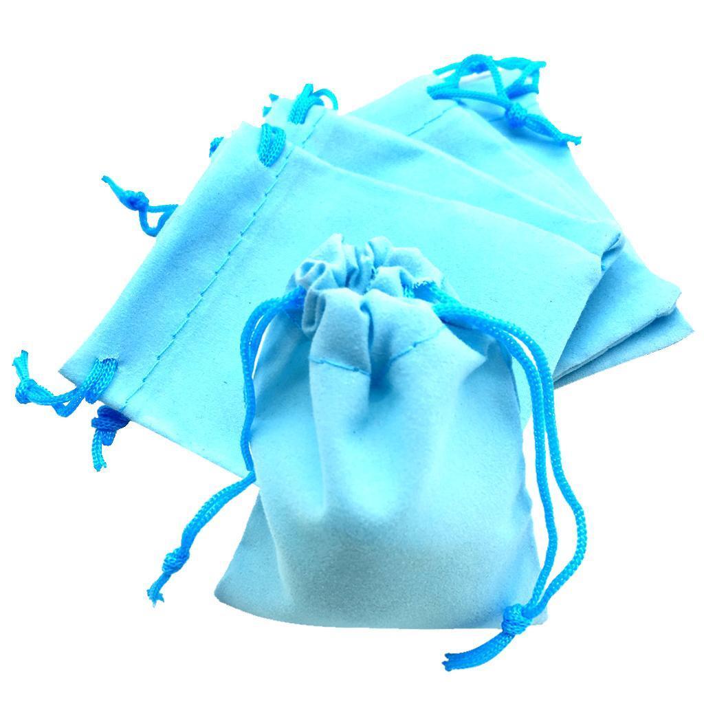 50pcs-Brillant-Velours-Bijoux-avec-cordon-de-serrage-Sac-Cadeau-Pochettes-Mariage-Anniversaire miniature 26