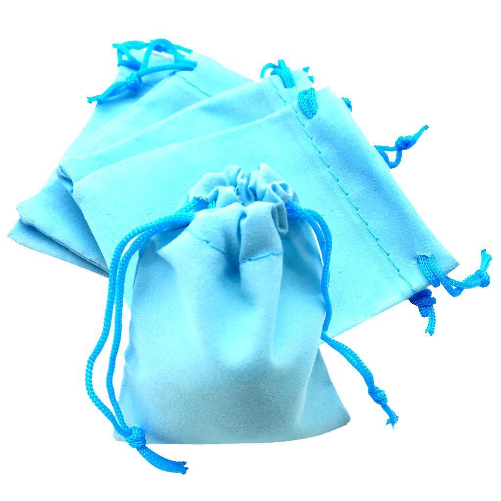 50pcs-Brillant-Velours-Bijoux-avec-cordon-de-serrage-Sac-Cadeau-Pochettes-Mariage-Anniversaire miniature 20