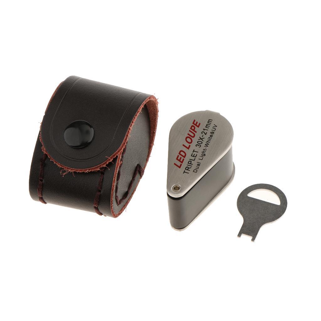 30X Lente Ingrandimento Magnifier Attrezzatura Portatile Per Creatori Di