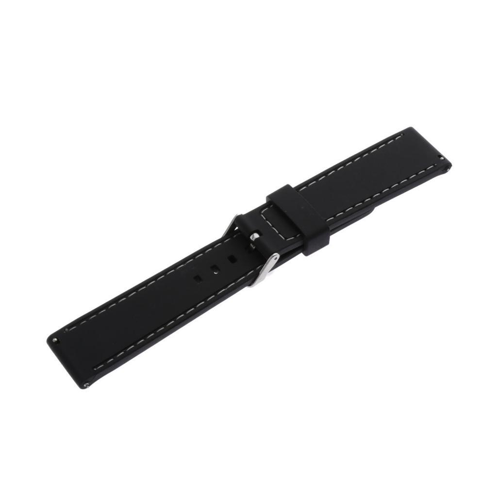 Waterproof-Silicone-Watch-Band-Strap-with-Stainless-Steel-Pin-Buckle-22mm thumbnail 20