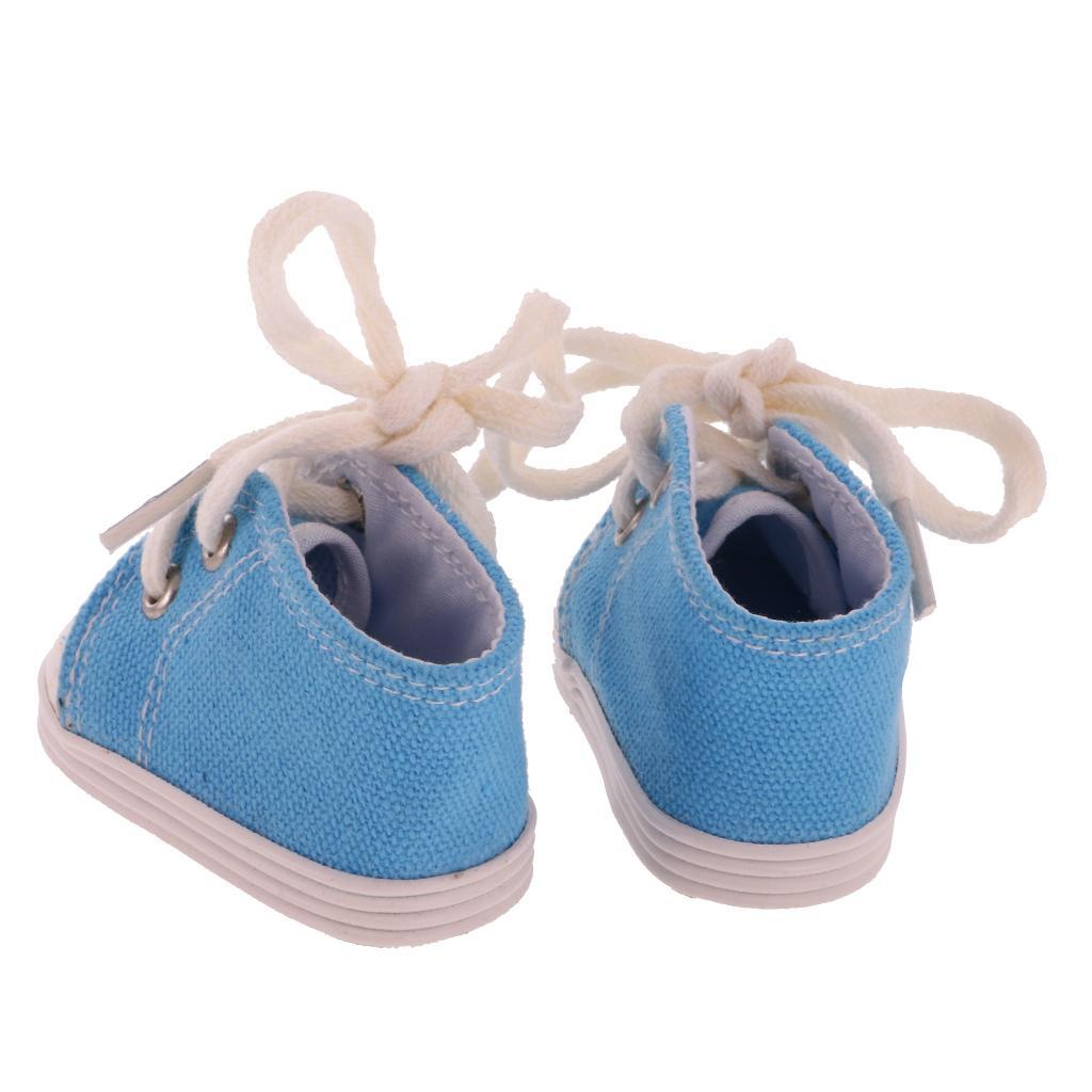 New-Cute-Pair-of-Doll-Shoes-for-18-039-039-American-doll-AG-Dolls-Clothes-Accessories thumbnail 18