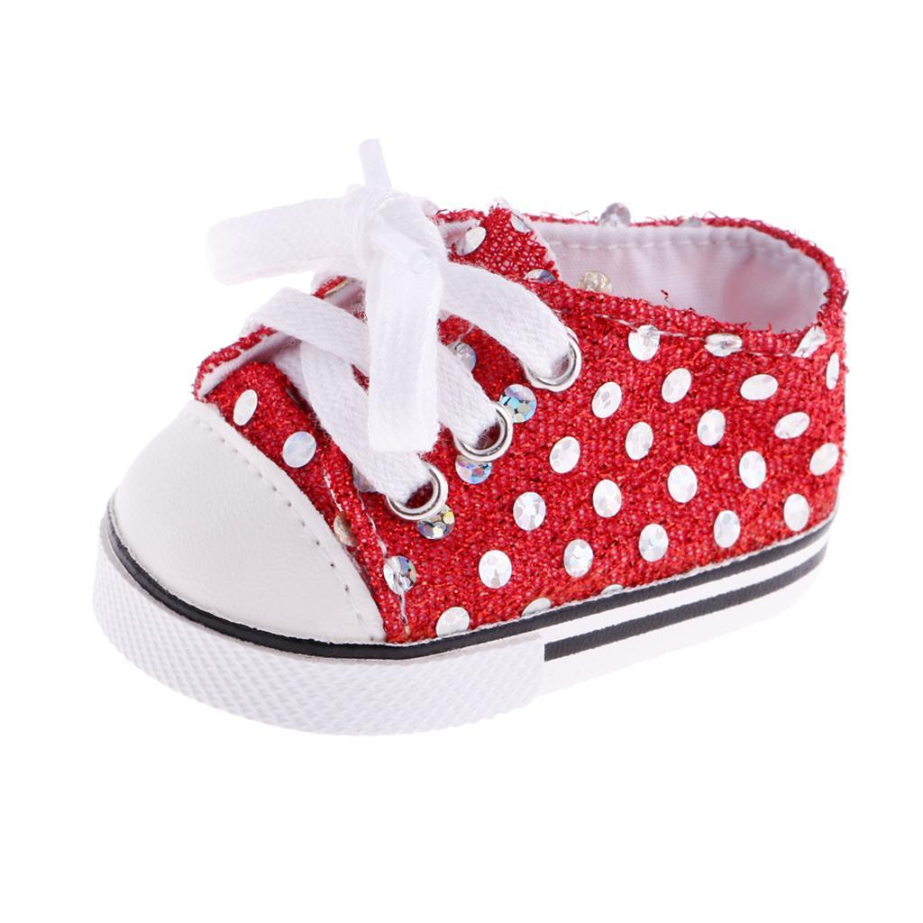 New-Cute-Pair-of-Doll-Shoes-for-18-039-039-American-doll-AG-Dolls-Clothes-Accessories thumbnail 10
