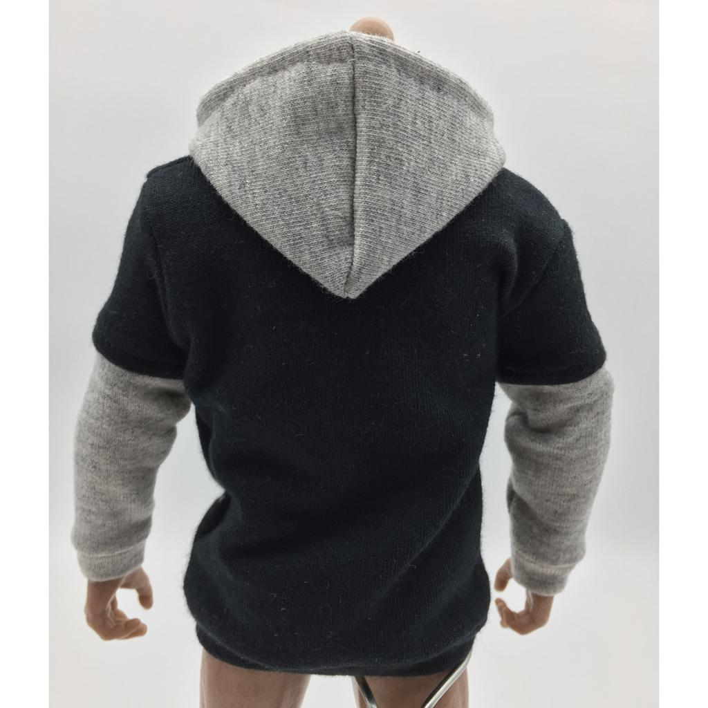 1-6-Scale-Mens-Long-Hoodie-Hooded-Sweatshirt-for-12inch-Action-Figure-Hot-Toys miniature 15