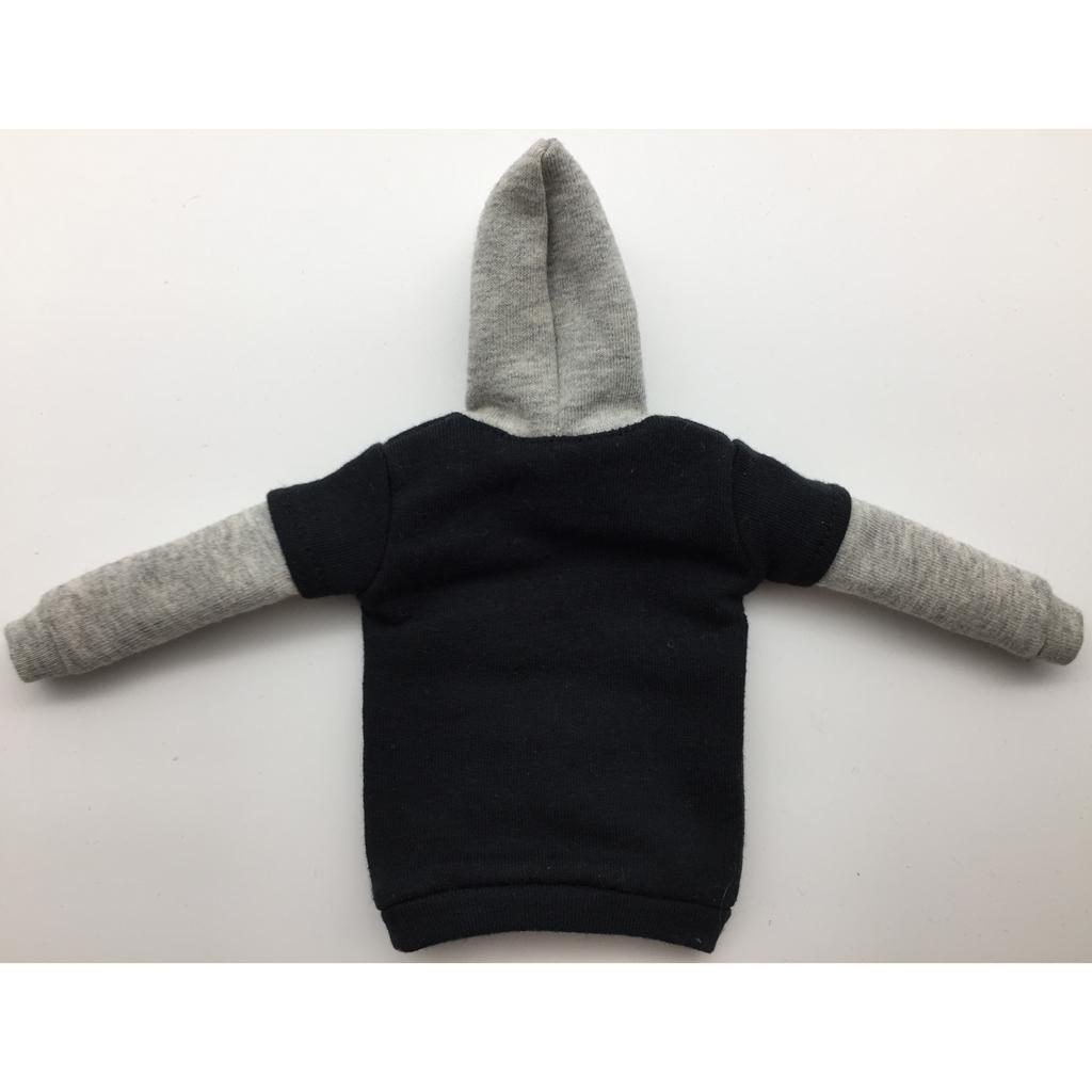 1-6-Scale-Mens-Long-Hoodie-Hooded-Sweatshirt-for-12inch-Action-Figure-Hot-Toys miniature 14