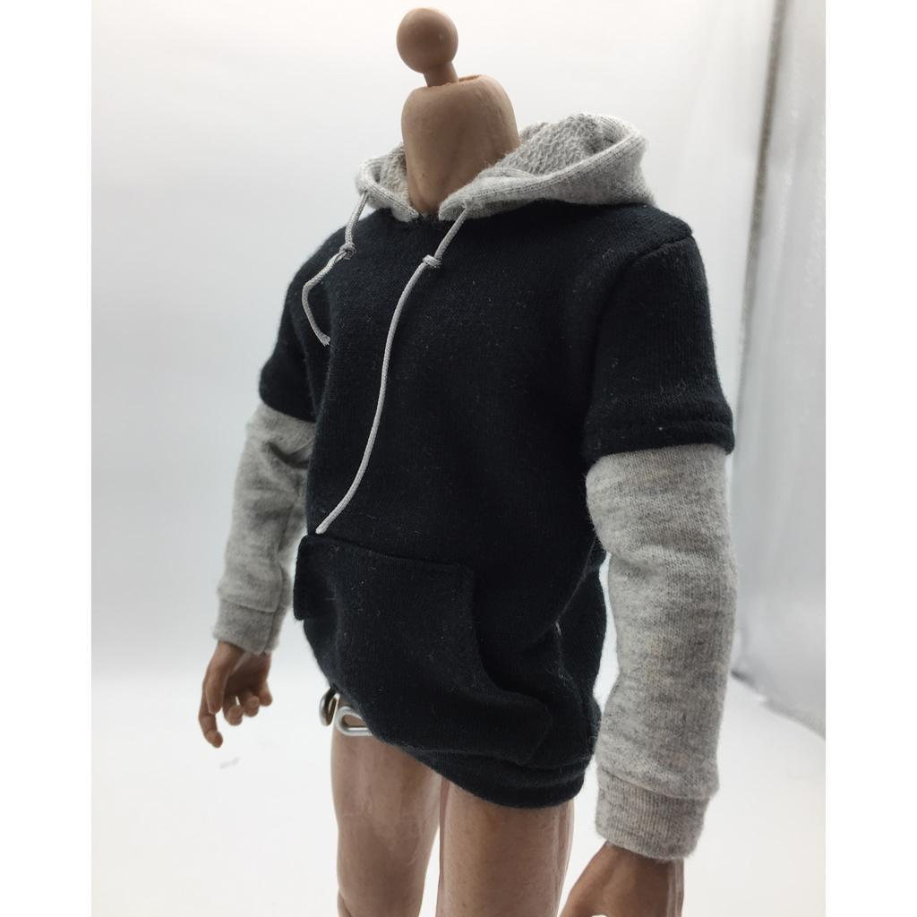 1-6-Scale-Jacket-Hoodie-T-shirt-Jeans-Accessories-for-12-039-039-Figure-Hot-Toys miniature 16