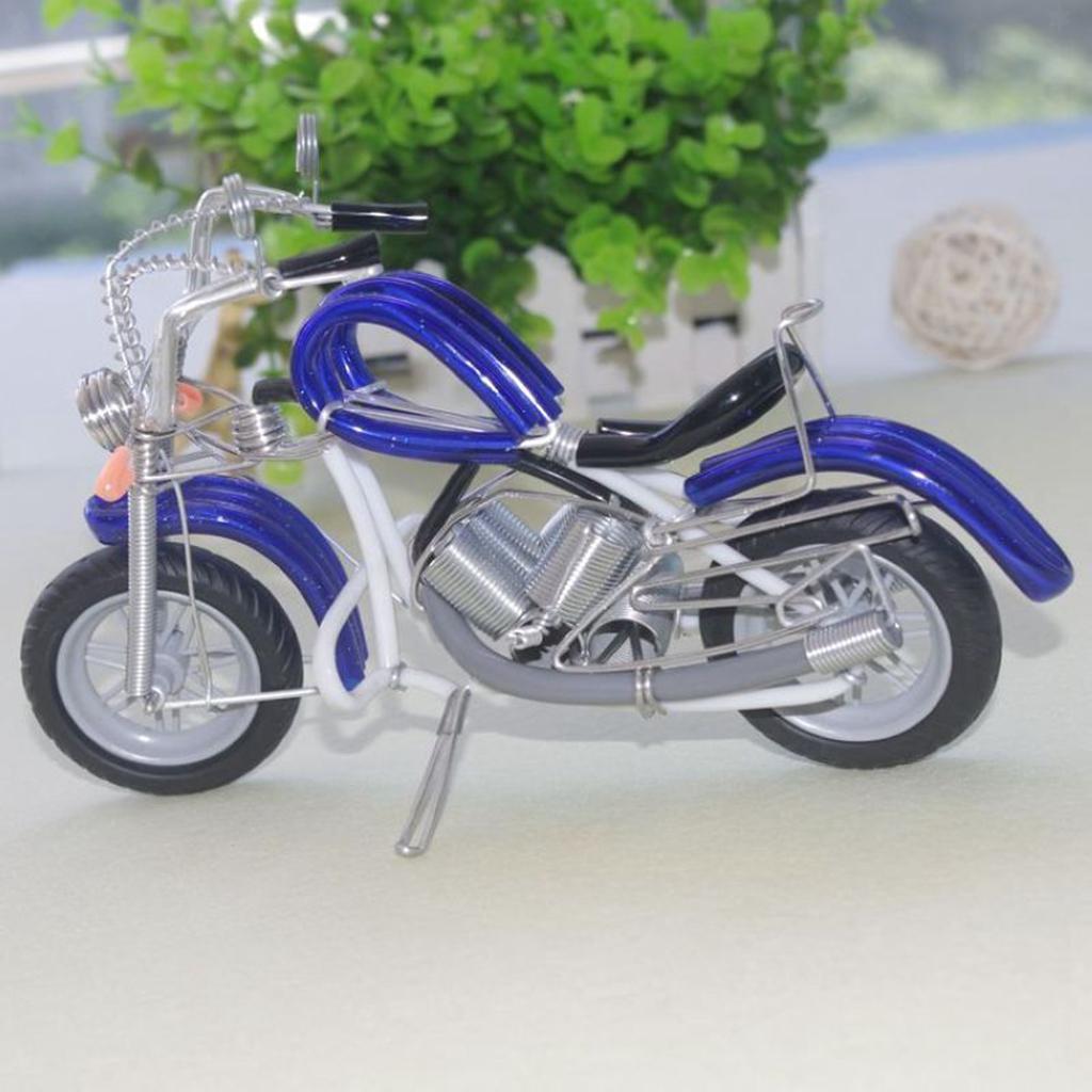 miniatura 11 - Giocattolo Di Simulazione Del Motociclo Regalo Di Compleanno In Miniatura In