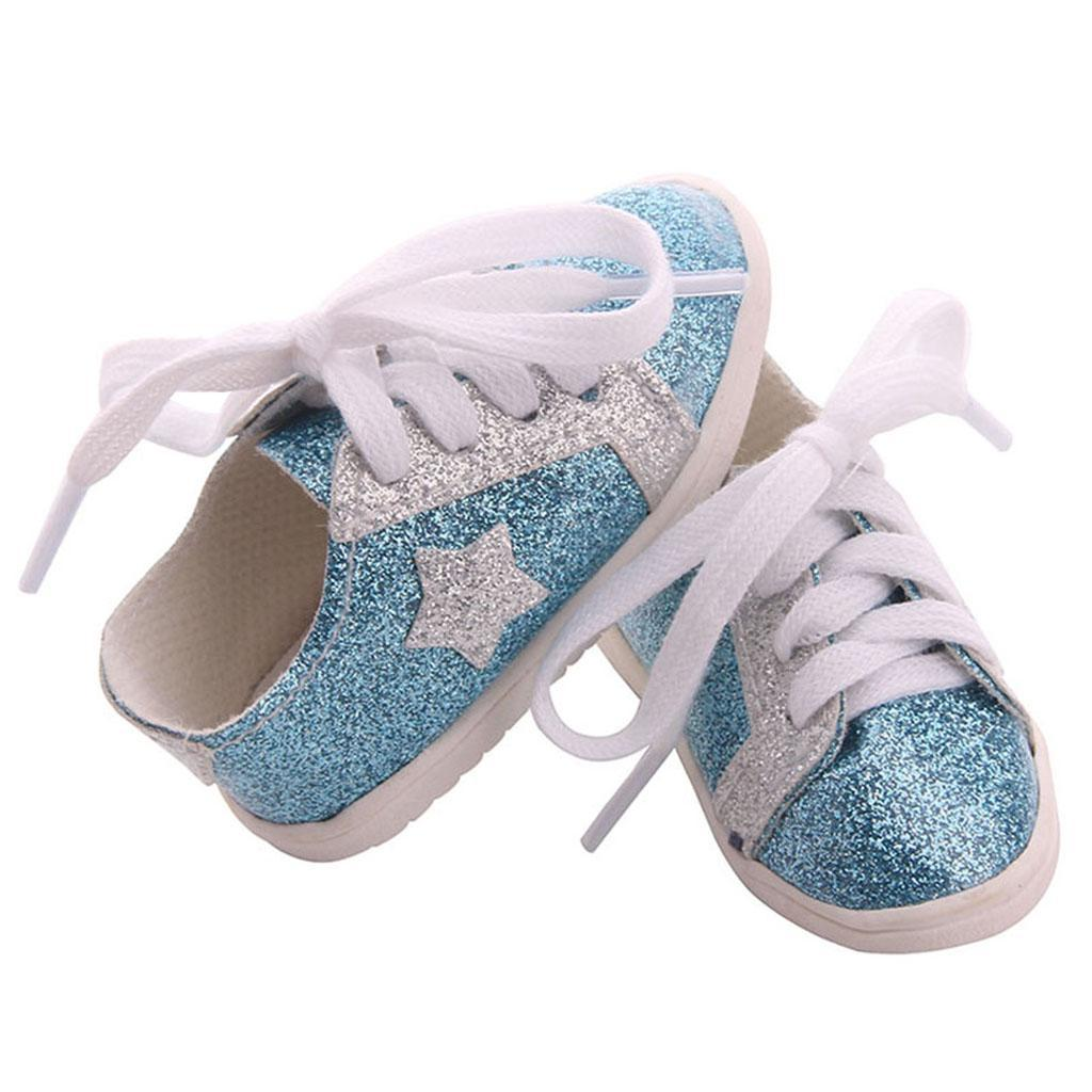 18inch-Girl-Doll-Fairy-Leisure-Shoes-for-American-Doll-Xmas-Gift-Accessories miniature 6