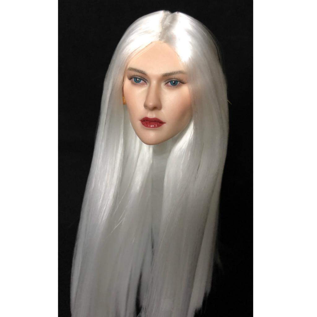1-6-Lady-Head-Sculpt-Female-Model-for-12-034-HT-Action-Figure-Hot-Toys thumbnail 9