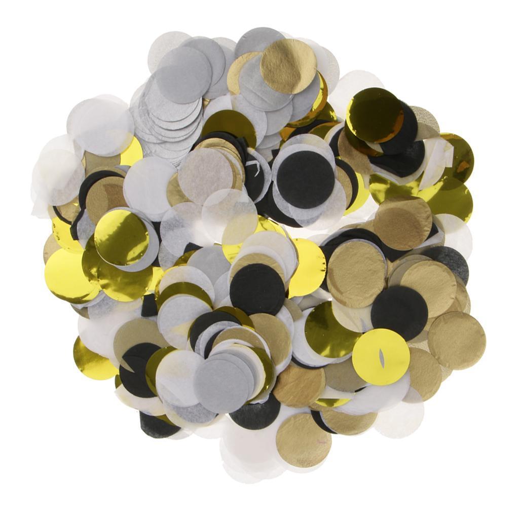 30g-Round-Tissue-Paper-Throwing-Confetti-Party-Balloon-Confetti-Wedding-Decor miniature 28
