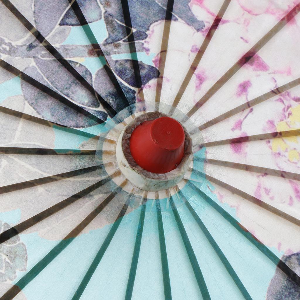 Parapluie-Chinois-Parasol-De-Mariage-Maison miniature 14