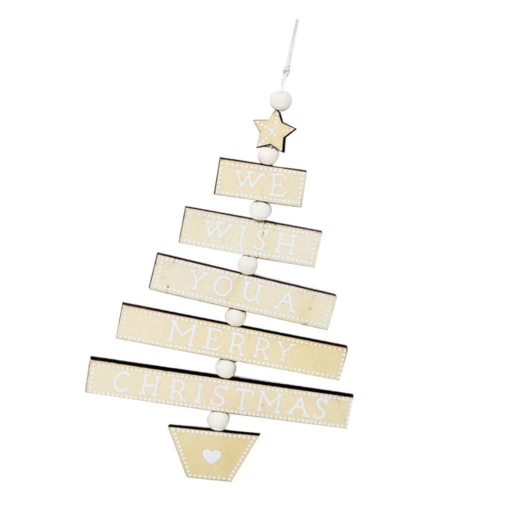 Natale-di-scrittura-del-messaggio-di-Natale-del-partito-dell-039-albero-di-forma miniatura 17