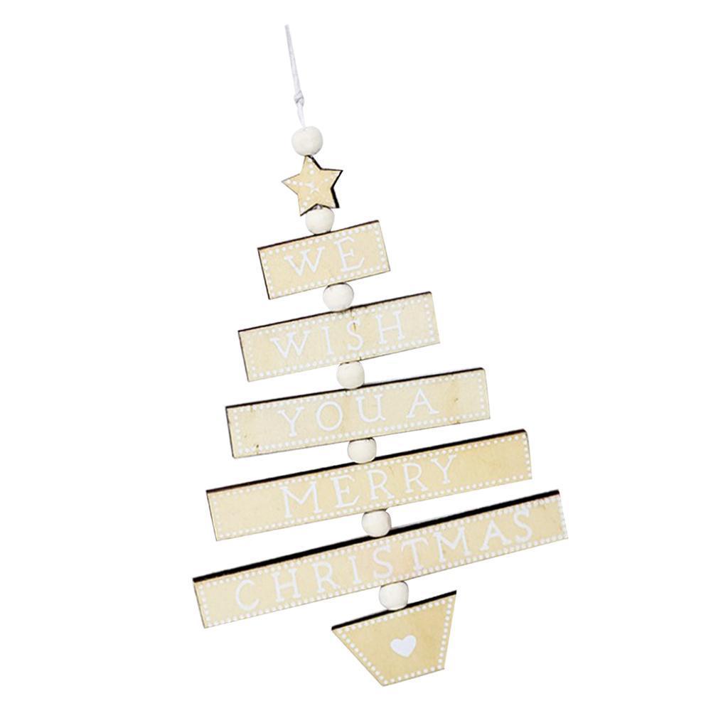 Natale-di-scrittura-del-messaggio-di-Natale-del-partito-dell-039-albero-di-forma miniatura 18