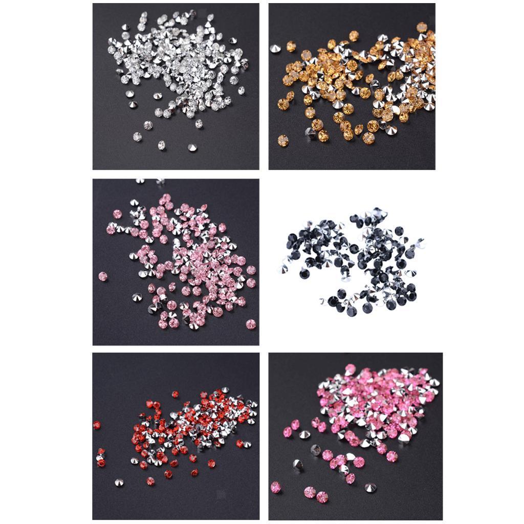 5000-Crystal-Diamonds-Confetti-Wedding-Bridal-Party-Decorations-Vase-Fillers thumbnail 4