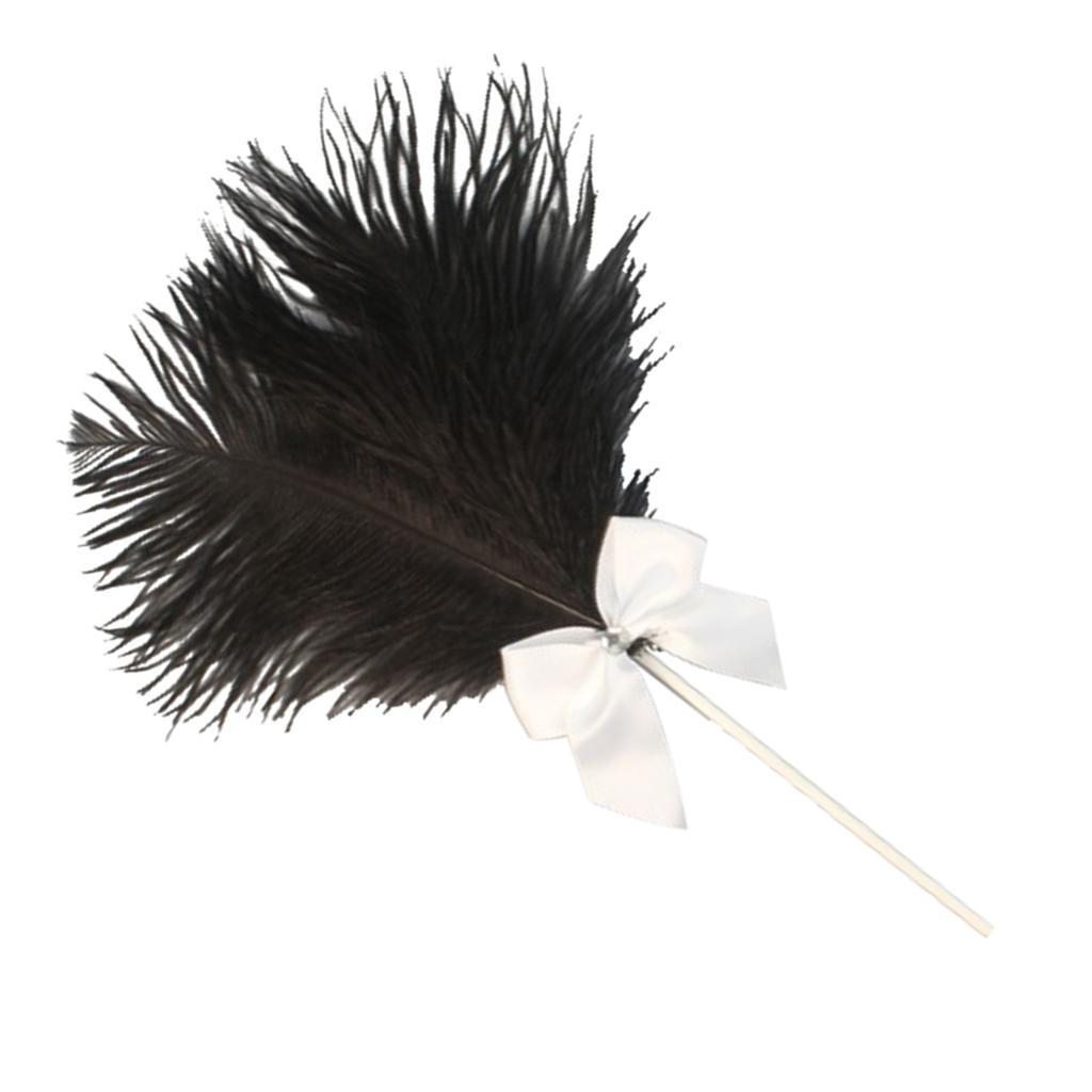 Cake-Topper-Feather-Decor-Cake-Insert-Card-For-Wedding-Party thumbnail 14