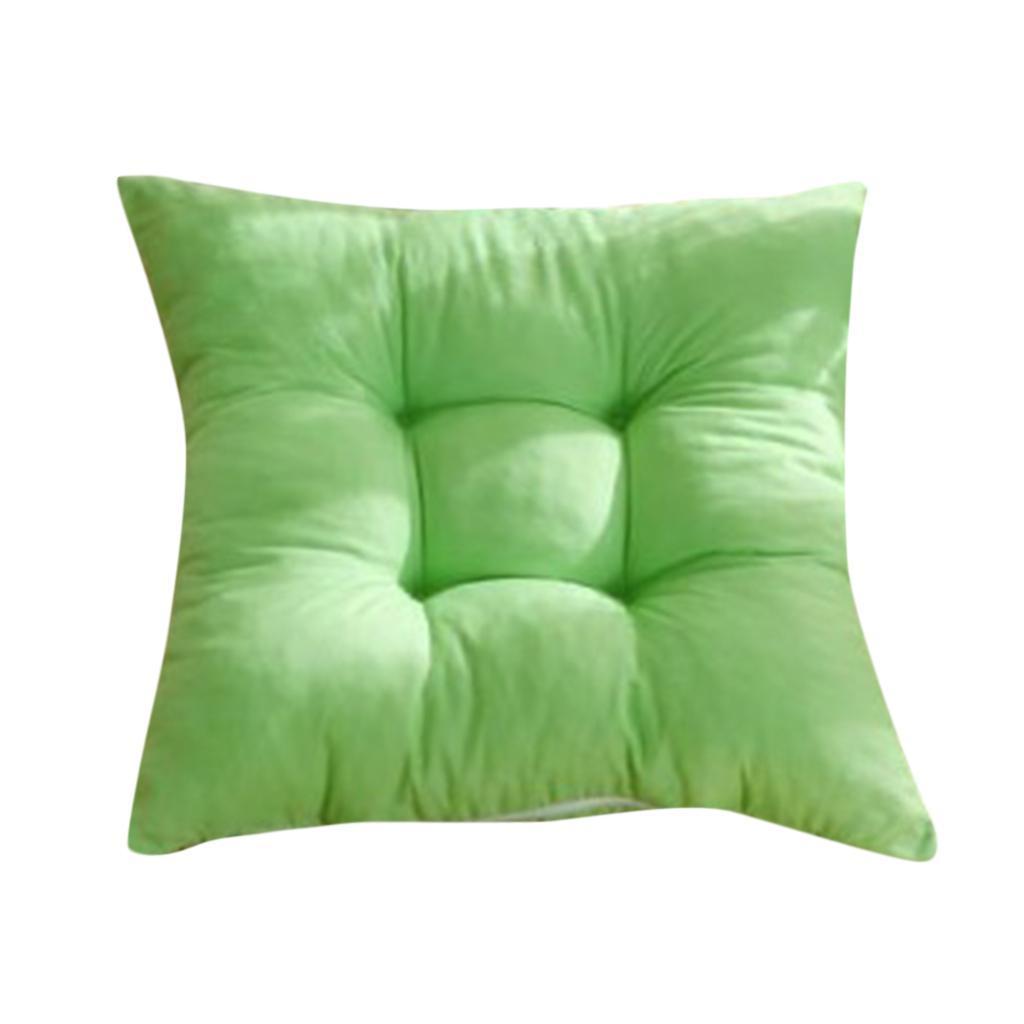 thumbnail 18 - Square-Chair-Cushion-Cushion-Pillow-for-Home-Office-14-Colors-40x40cm