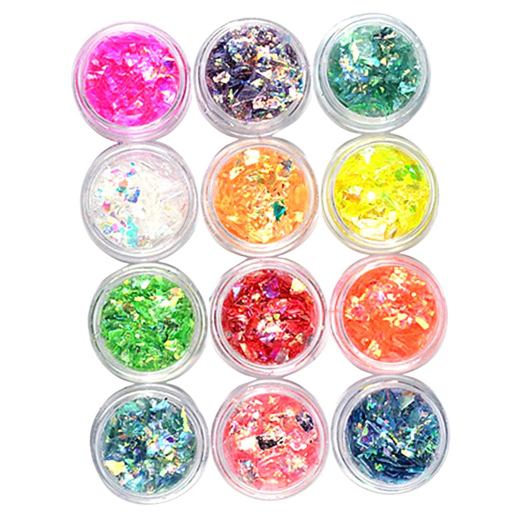Pack of 12 Pot, Irregular Table Confetti Sprinkles Party DIY Decoration