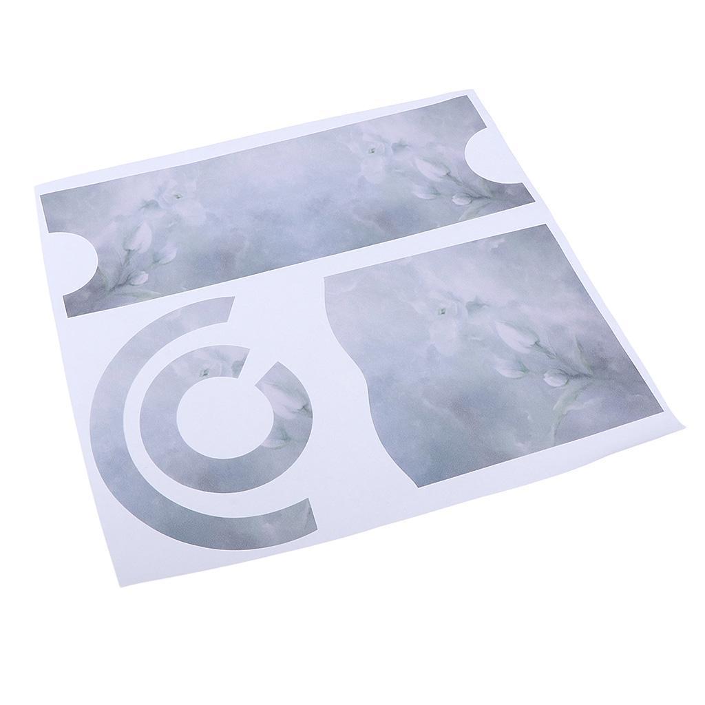 Asciugacapelli-Adesivi-in-PVC-Resistente-All-039-acqua-Materiale-in-Carta miniatura 20