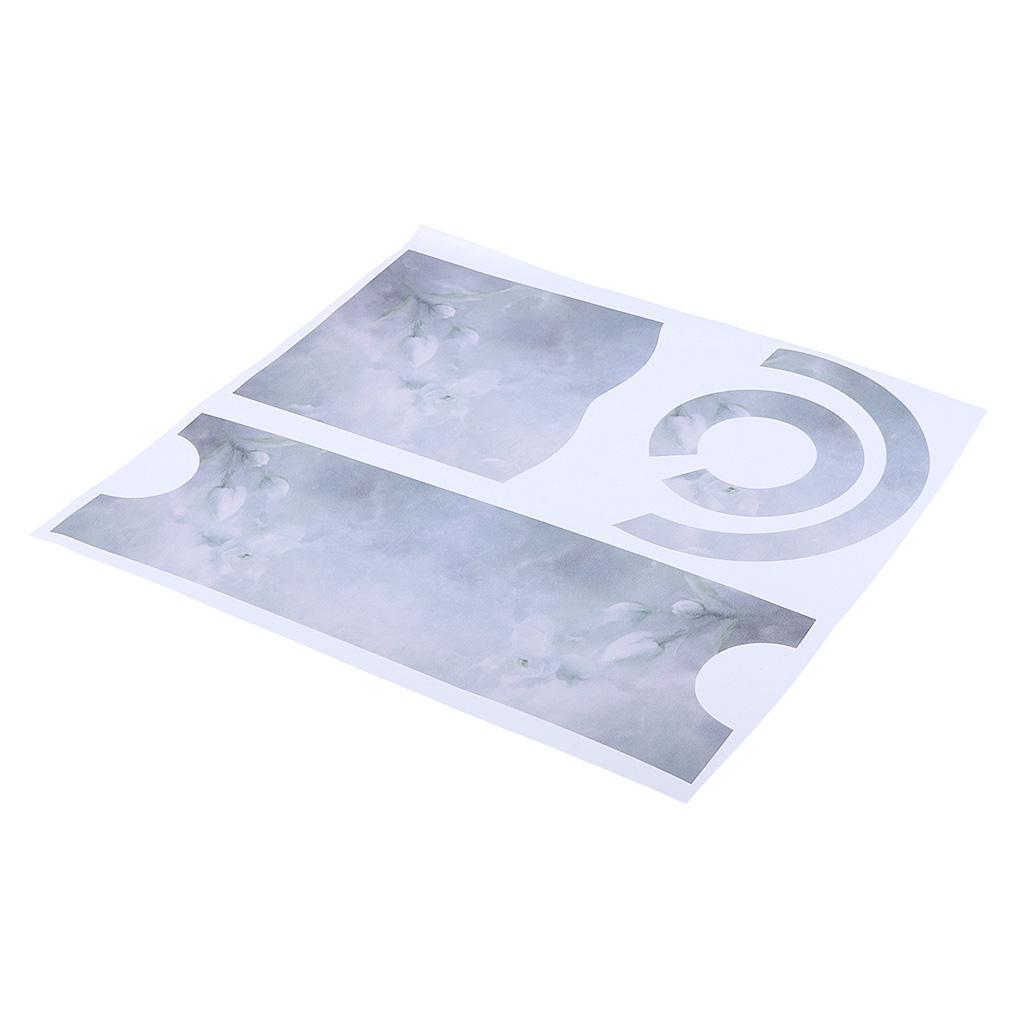 Asciugacapelli-Adesivi-in-PVC-Resistente-All-039-acqua-Materiale-in-Carta miniatura 21