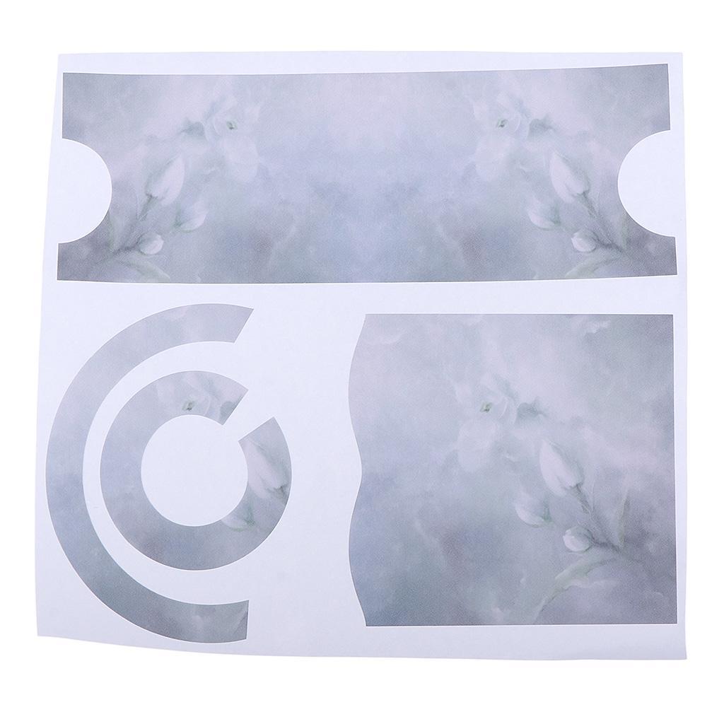 Asciugacapelli-Adesivi-in-PVC-Resistente-All-039-acqua-Materiale-in-Carta miniatura 19