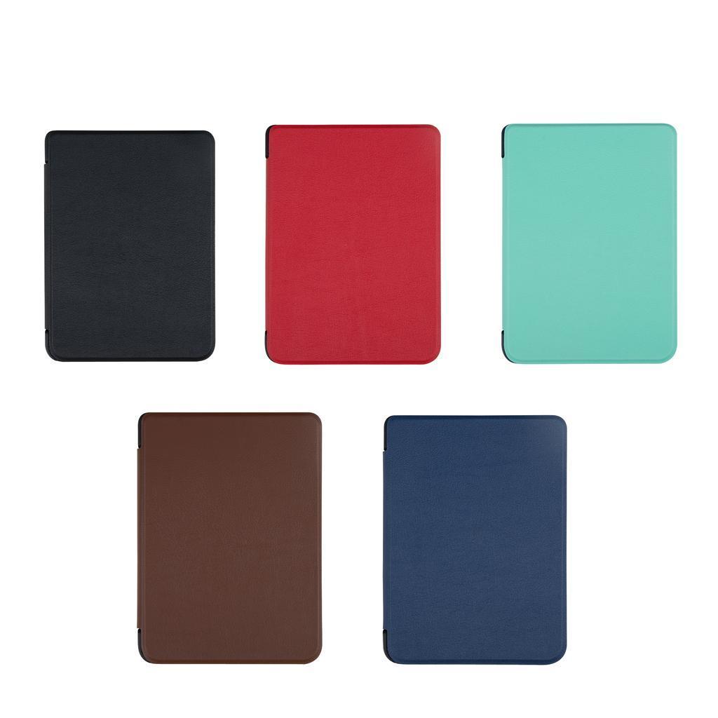 ULTRA-SOTTILE-PELLE-SMART-SLIM-COVER-STAND-CASE-PER-Kobo-Clara-6-034-eReader miniatura 5
