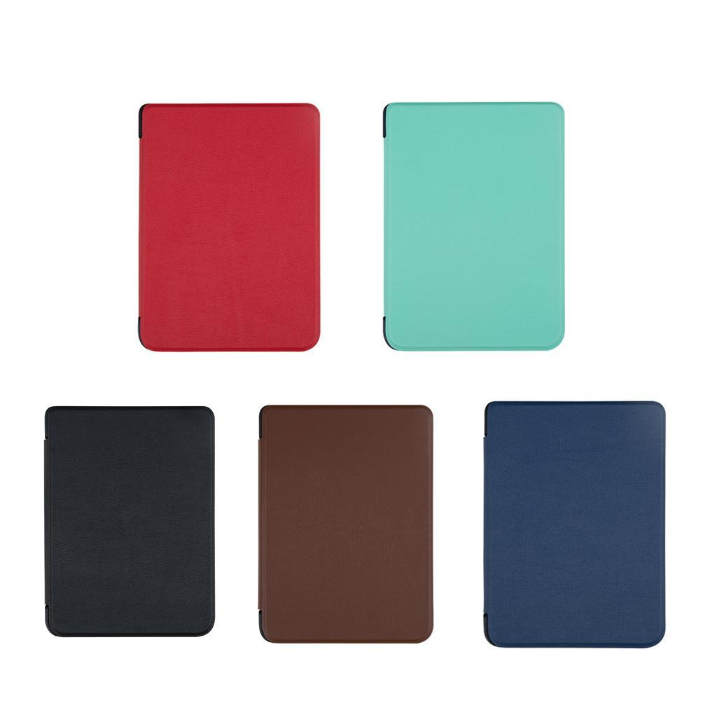 ULTRA-SOTTILE-PELLE-SMART-SLIM-COVER-STAND-CASE-PER-Kobo-Clara-6-034-eReader miniatura 3