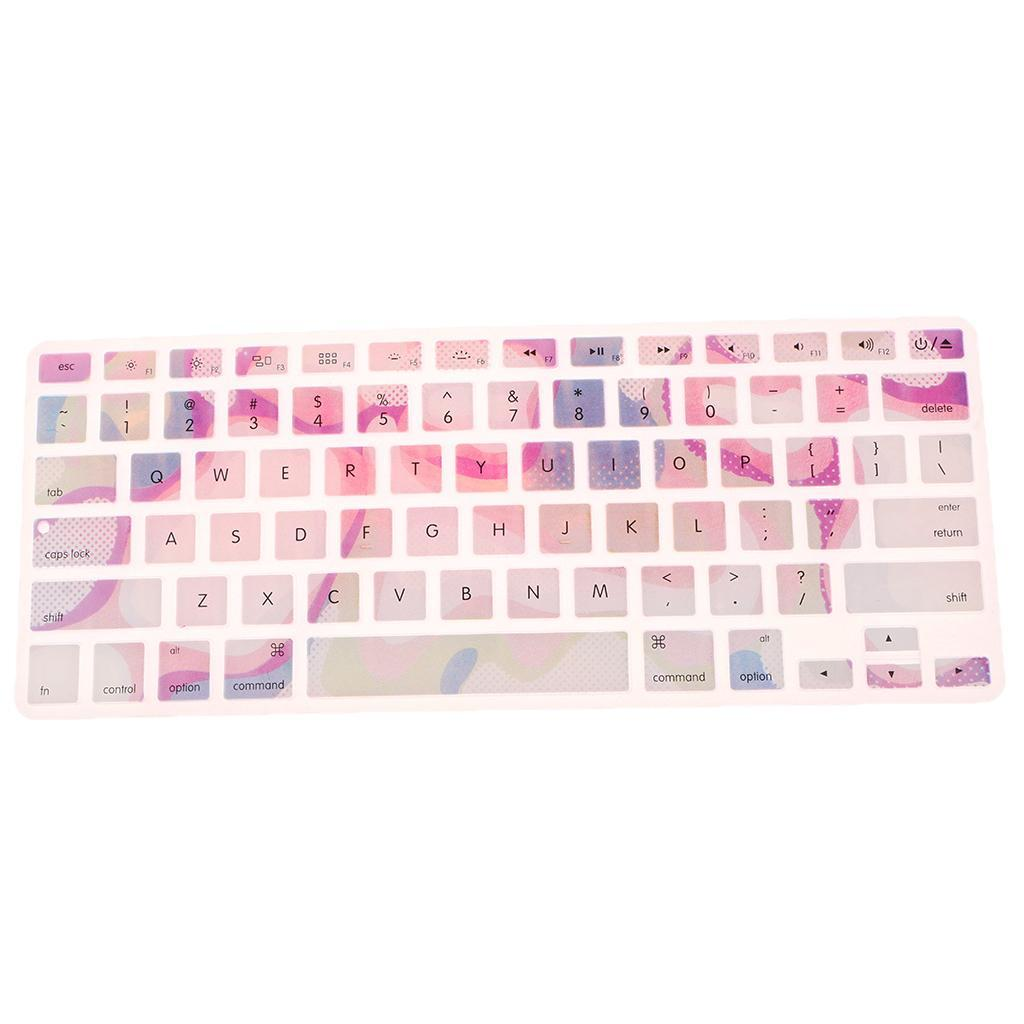 Silicone-Keyboard-Cover-Skin-Protector-for-Apple-Macbook-Pro-13-039-039-15-039-039-Retina thumbnail 12