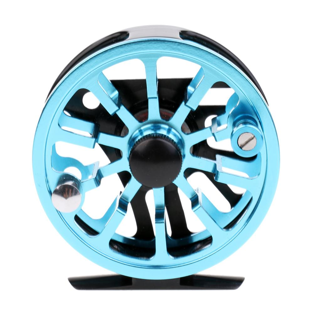 Fly Reel 3//4 5//6 WF Aluminum Alloy Fly Fishing Reel Smooth Running Fishing Wheel