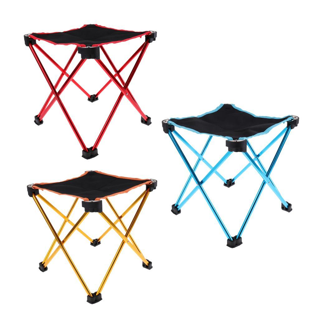 Compact-Ultralight-Portable-Folding-Camping-Backpacking-Stool-Chair-with-Bag thumbnail 4