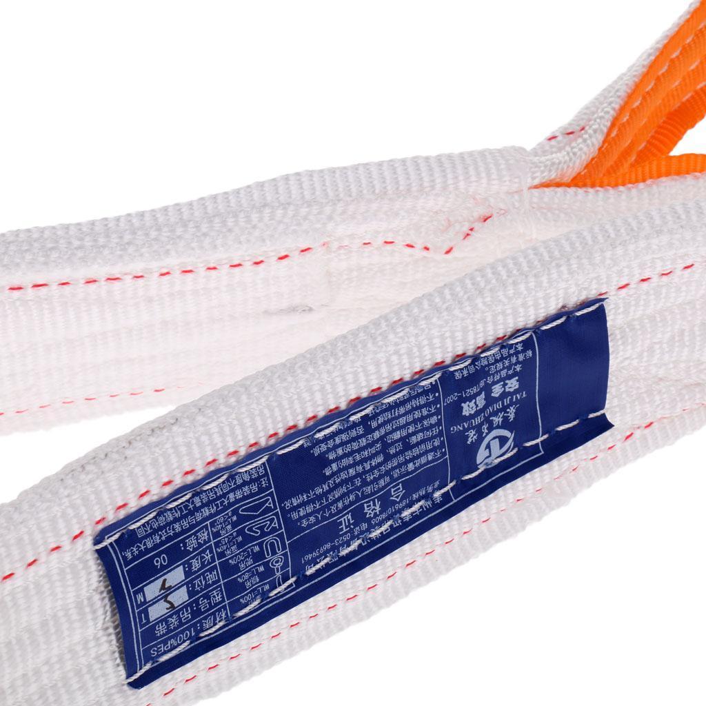 Lifting-Sling-Imbracatura-di-Sollevamento-Di-Doppio-Strato-Fibra-di miniatura 23