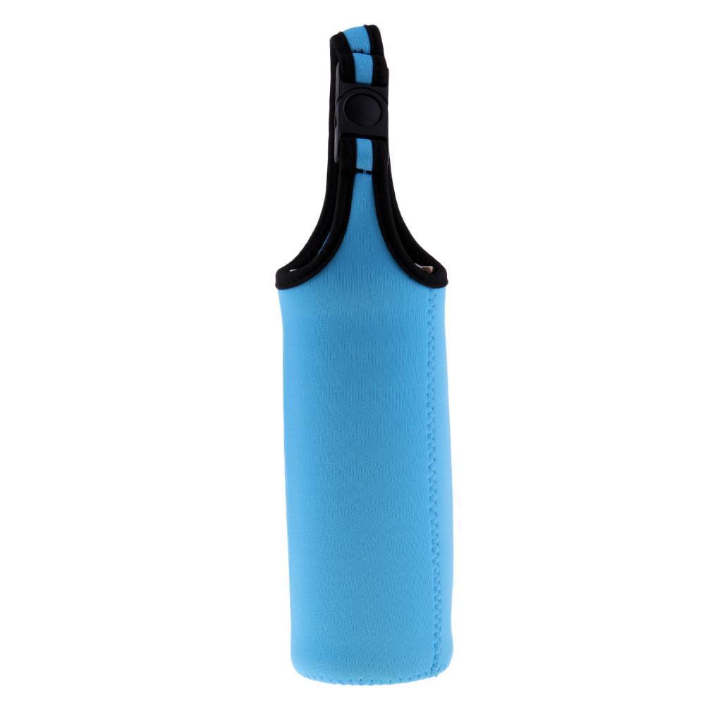 Couverture-Neoprene-450-Ml-Bouteille-D-039-eau-Manchon-Portable-Refroidisseur miniature 12