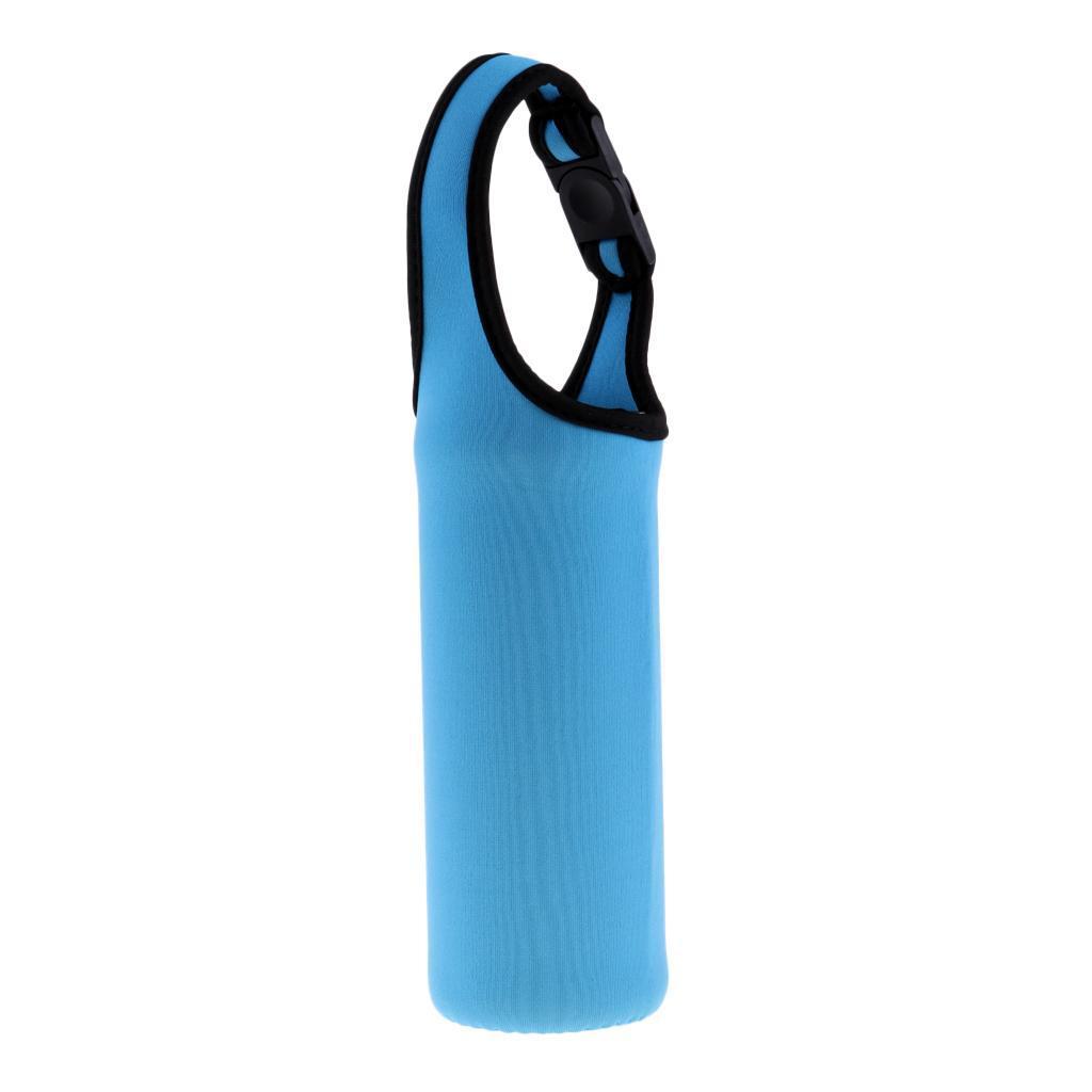 Couverture-Neoprene-450-Ml-Bouteille-D-039-eau-Manchon-Portable-Refroidisseur miniature 13