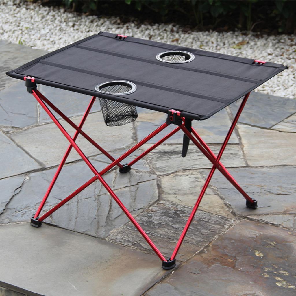 Ultra-light-Portable-Folding-Table-Tavel-Picnic-Desk-Outdoor-Camping-Hiking thumbnail 7