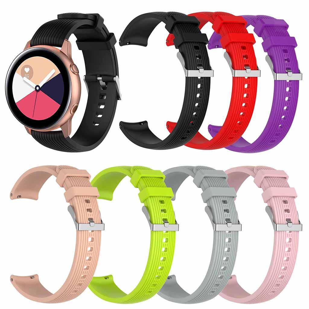 Watch-Bracelet-Non-toxic-Tasteless-Wristband-Starp-for-Galaxy-Watch-Active thumbnail 9