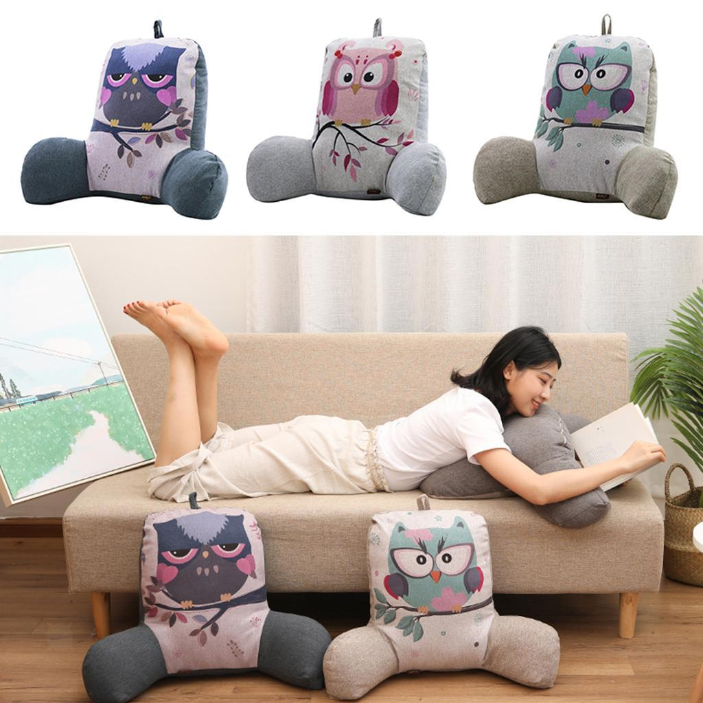 Cute Bird Lumbar Back Support Cushion Waist Pillow for Office Car Chair Seat-03