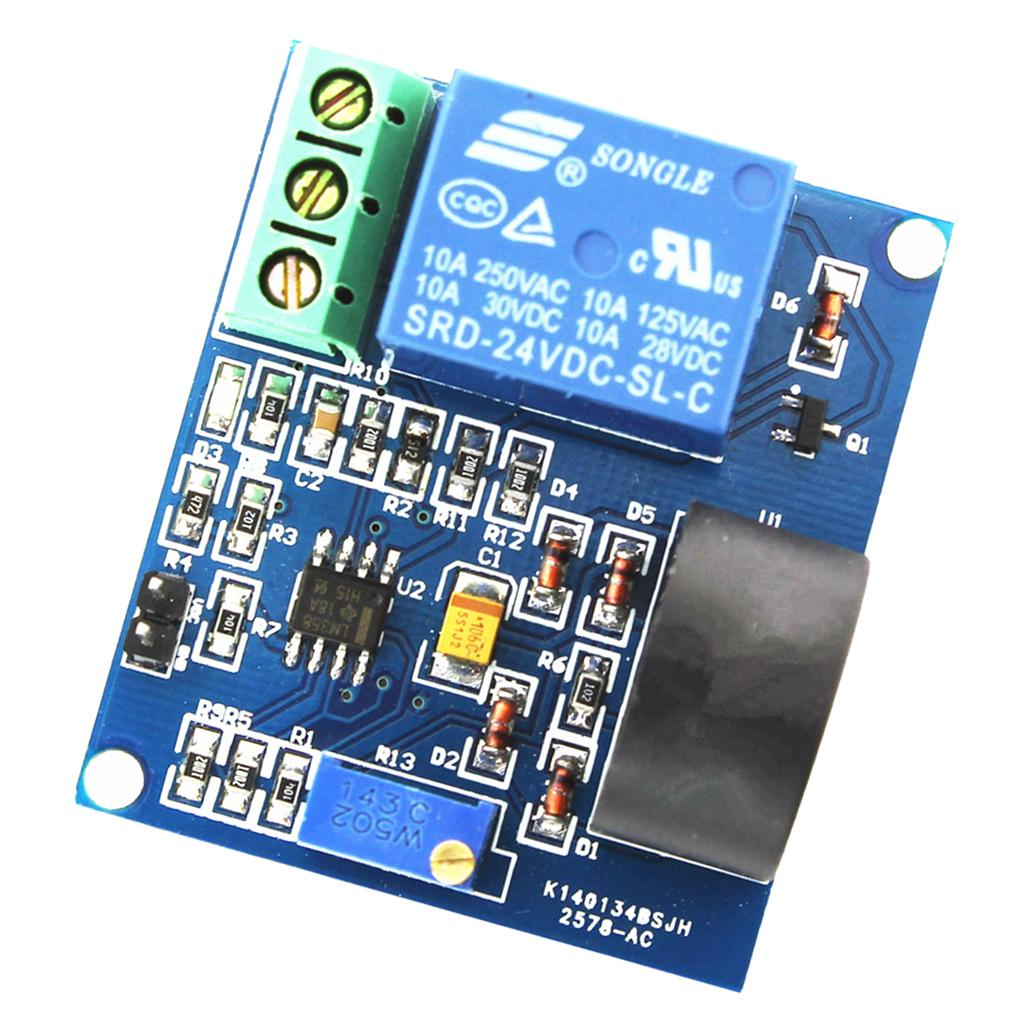 5A Over-Current Protection Relay Flow Protecting Detection Sensor Module 24V