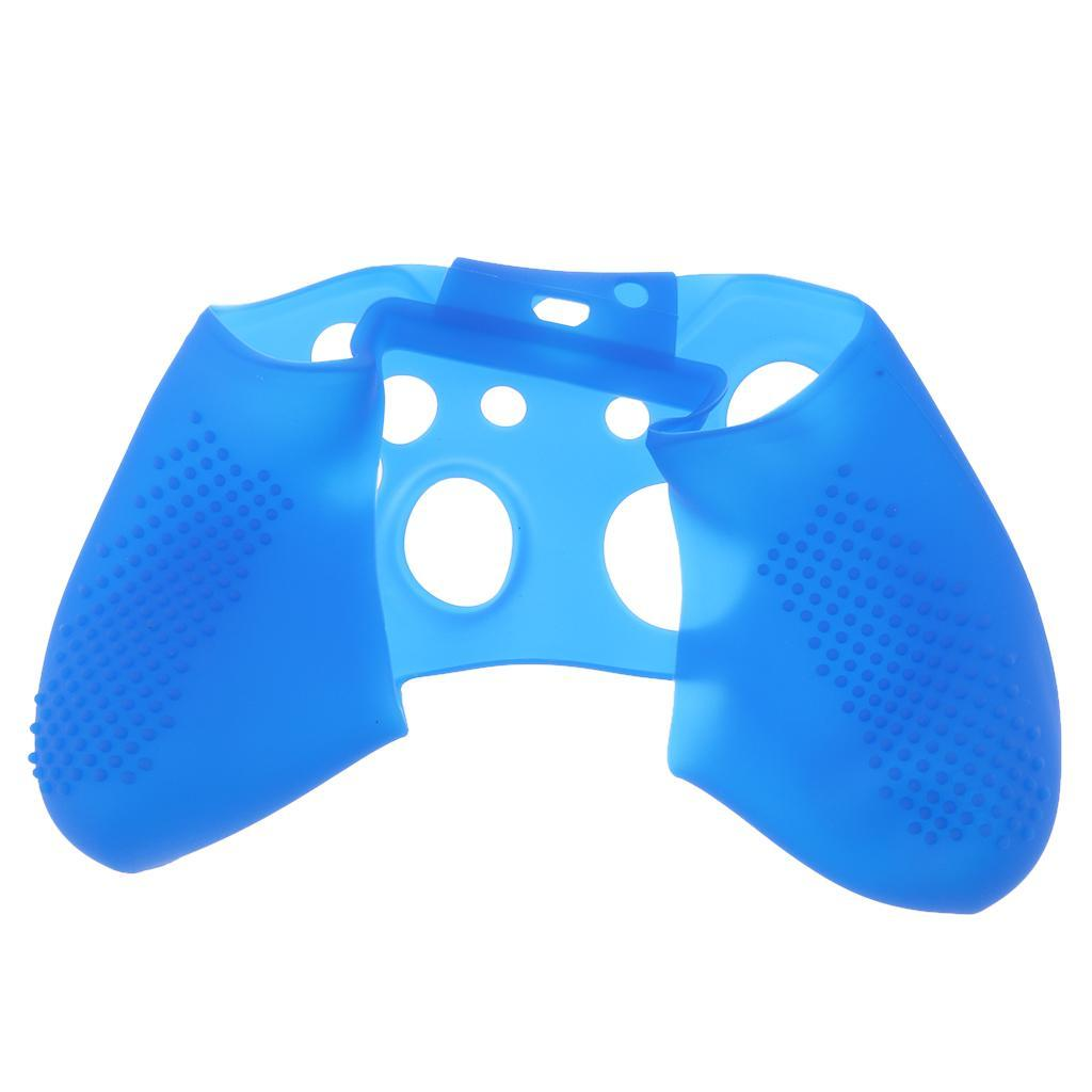Controller-Silicone-Case-for-Microsoft-Xbox-One-Slim-Soft-Skin-Cover-Shell miniature 7