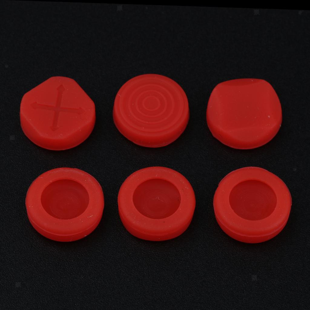 6Pcs-Analog-Stick-Cap-Thumb-Grips-Cover-for-Playstation-PS-Vita-PSV1000-2000 miniature 3