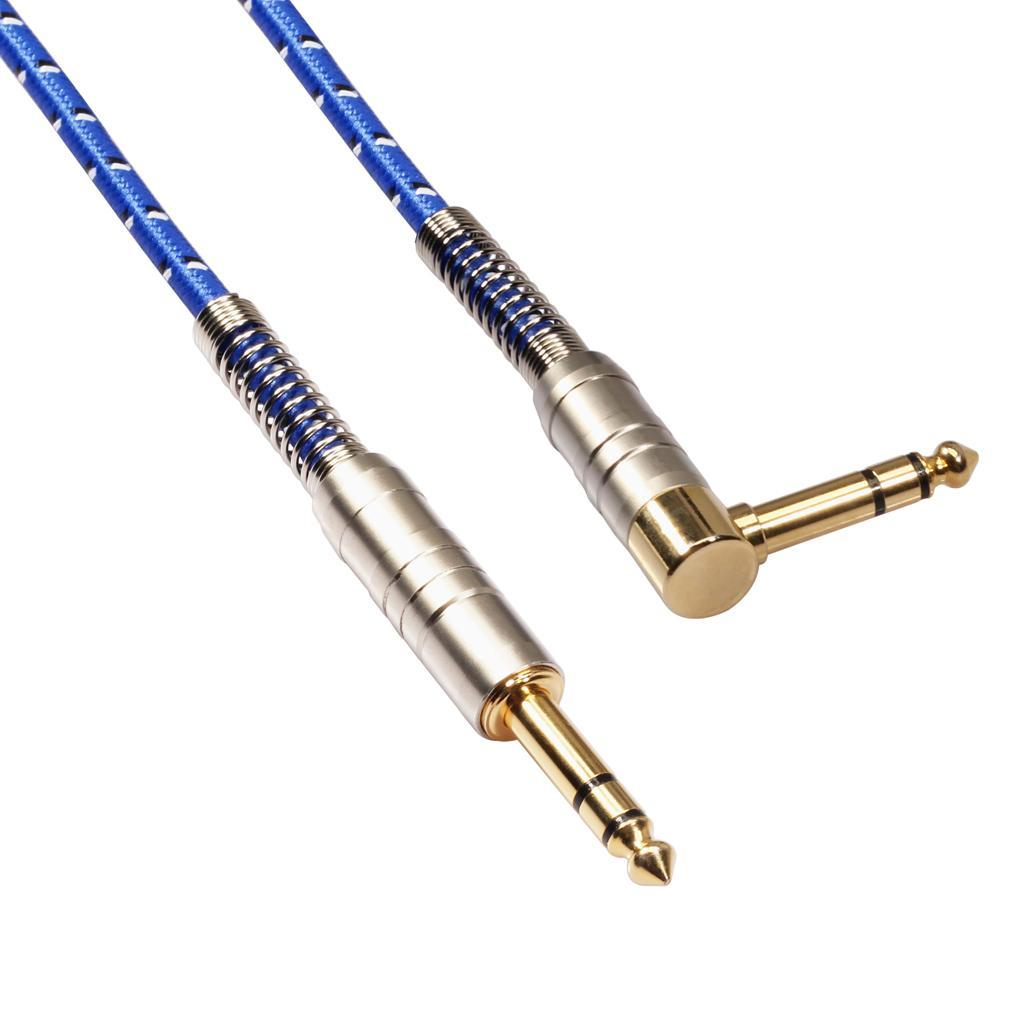 1  4 Inch Male To Male Trs Stereo Jack Hifi Cable With
