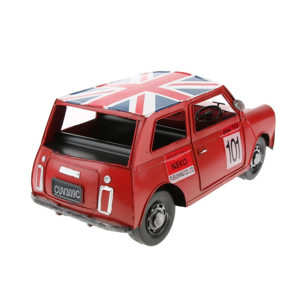 Retro-Style-Car-Model-Home-Bar-Cafe-Decoration-Collezioni-Regalo-speciale miniatura 3