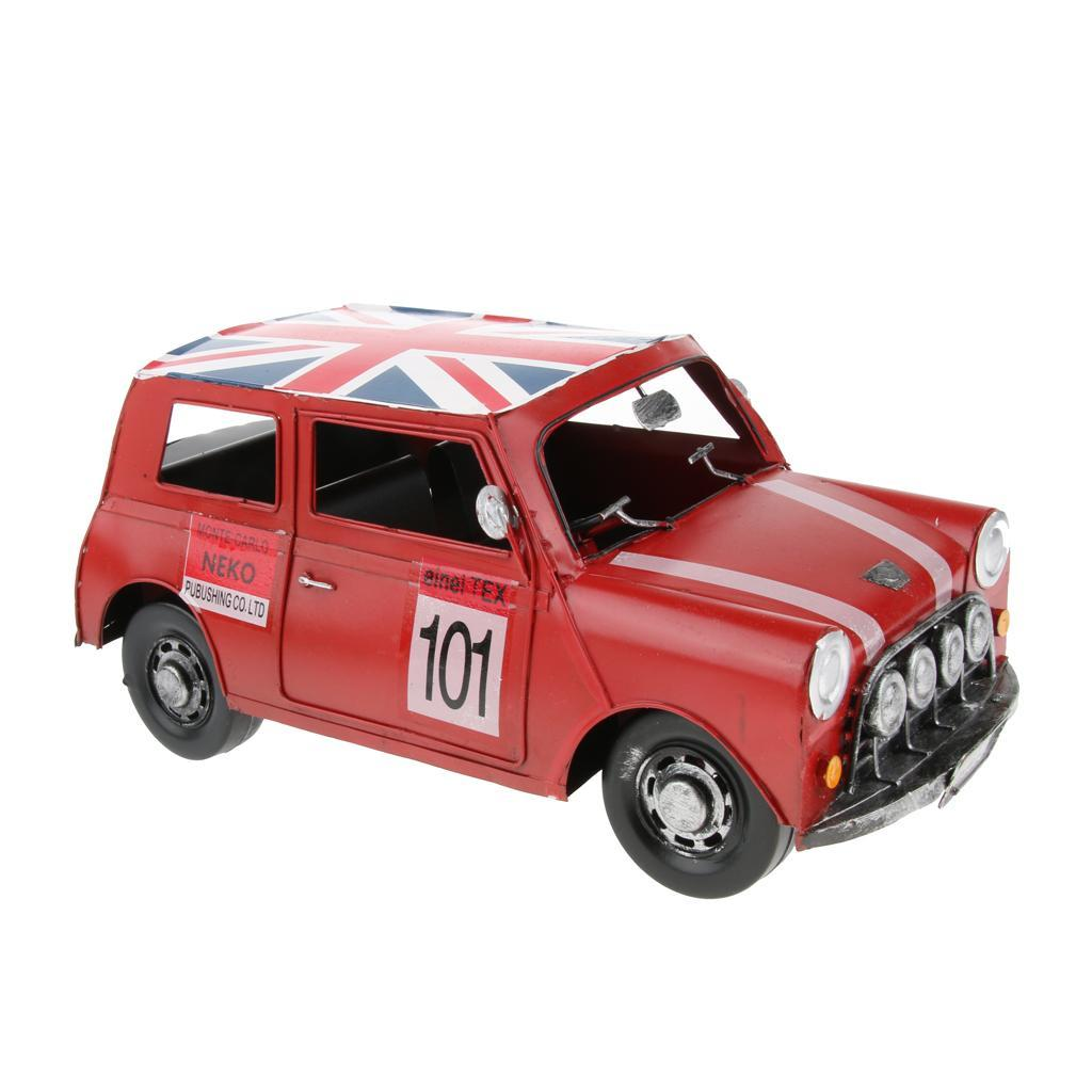 Retro-Style-Car-Model-Home-Bar-Cafe-Decoration-Collezioni-Regalo-speciale miniatura 4