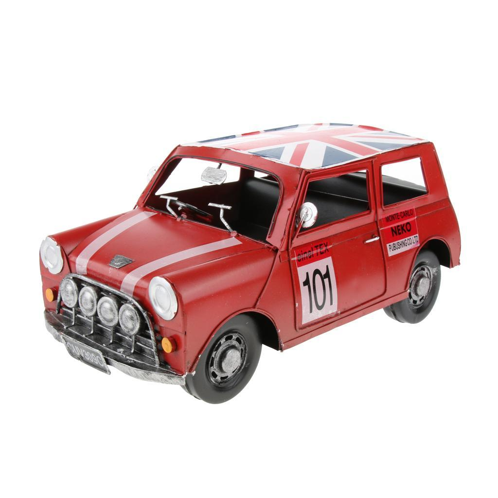 Retro-Style-Car-Model-Home-Bar-Cafe-Decoration-Collezioni-Regalo-speciale miniatura 5
