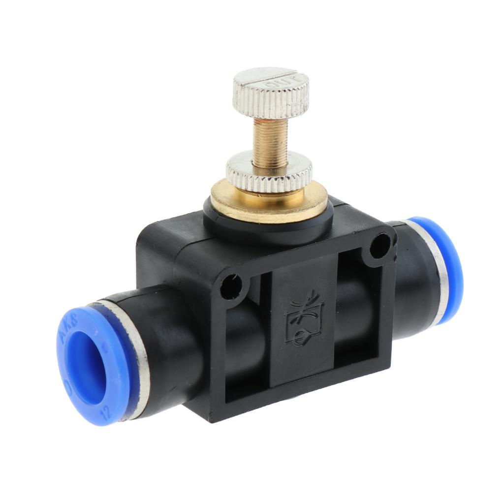 For Cylinders and Valves Push in Type, Speed Controllers Flow Restrictor