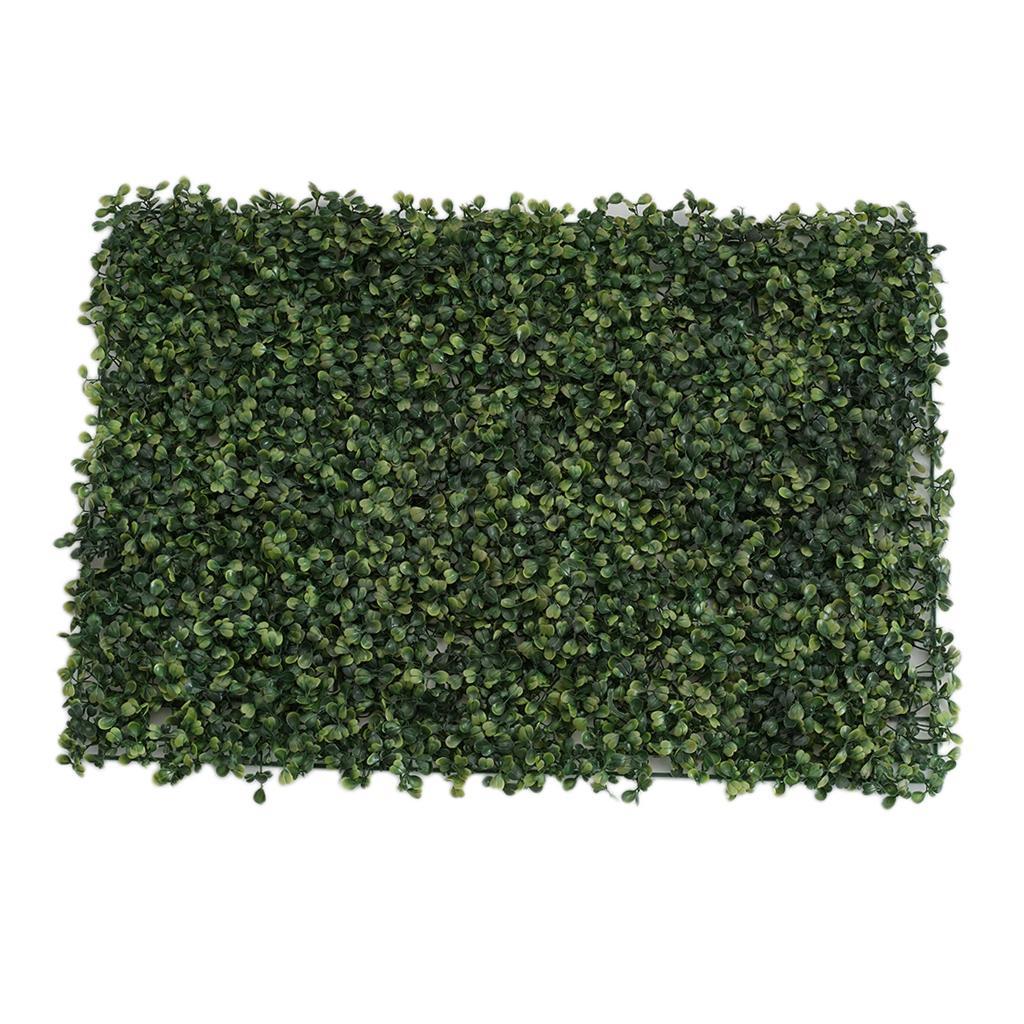 10x Wandbehang Kunststoffplatten Matte Halter 44x14cm für Blumen Gras Rasen