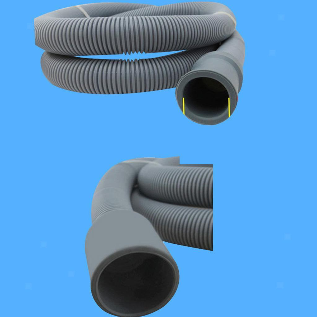 Flexible Elbow Drain Hose Pipe With Bracket For Washer Washing Machine