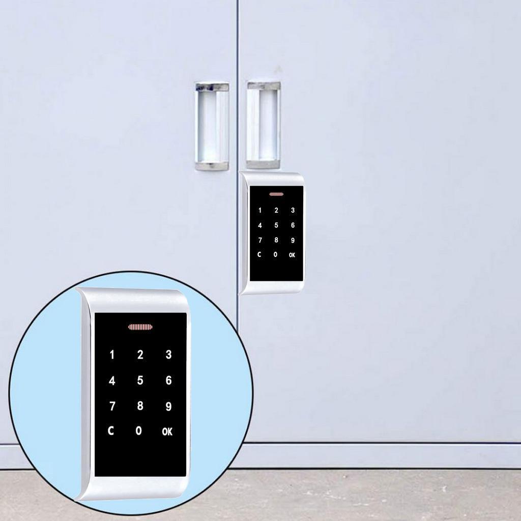Keyless Electronic Locker Lock Number Code Password Keypad